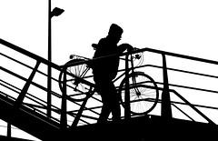 amsterdam (wojofoto) Tags: amsterdam fiets bike bicycle wojofoto zw zwartwit bw blackandwhite stadsarchief wolfgangjosten nederland netherland holland monochrome straatfoto streetphoto mensen people