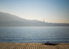 The rope... (anna.coluthe) Tags: mountain lake annecy church water montagne landscape eau lac rope paysage glise corde lacdannecy lavisitation