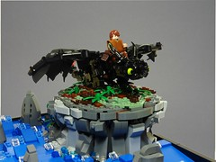 lego how to train your dragon moc