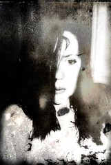 (Manhattan Girl) Tags: selfportrait sadness alone sad melancholy bwphotography textured mywords mypoetry shellykayphotography