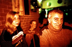 Tam & Her Dad (Ludovic Macioszczyk Photography) Tags: world life camera winter light red 2 6 3 france green art film girl yellow analog 35mm hair toy photography 1 photo xpro lomography exposure shoot dad photographie cross kodak lumière 5 flash 4 picture 7 8 9 lo her scan m iso photographs chrome elite blonde keep inside 100 fi alive 135 processed contrasts tam colorsplash 87 vie argentique limoges 128 photographe polychrome 32mm ludovic négatif pellicule ludos minitar 2013 développement macioszczyk