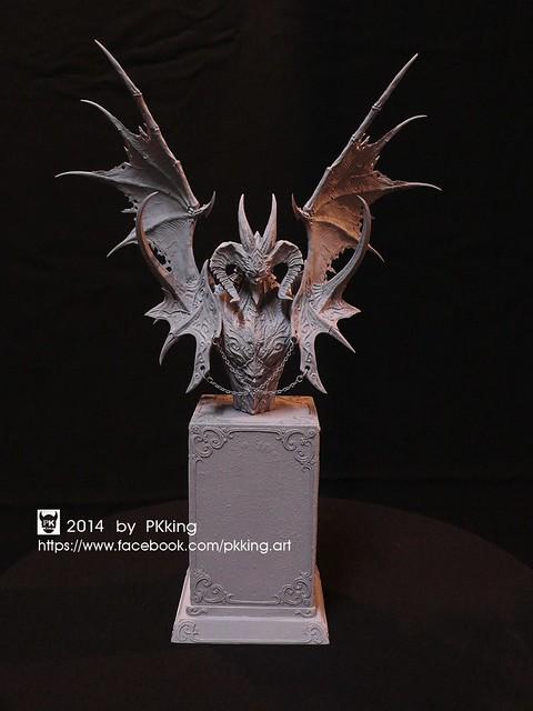 一窺3D列印技術奧妙!PKKing 「巨獸胸像」之數位工藝開發