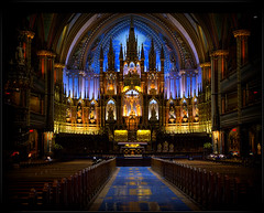 Notre Dame Basilica (stephenisabellemaggie) Tags: canada quebec montreal basilica ringexcellence blinkagain dblringexcellence tplringexcellence eltringexcellence