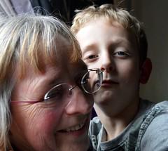 Josh and Nanna ( Russ Hamer) Tags: portrait smile happy young josh nana