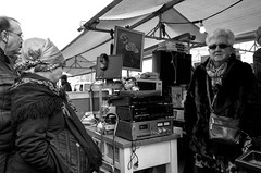 Back to the eighties (achrw) Tags: blackandwhite rotterdam blaak markt binnenrotte