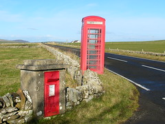 Old telephone and post box's (stuartcroy) Tags: red island orkney phone post box panasonic dmcfz10 mygearandme rememberthatmomentlevel4 rememberthatmomentlevel1 rememberthatmomentlevel2 rememberthatmomentlevel3 rememberthatmomentlevel7 rememberthatmomentlevel9 rememberthatmomentlevel5 rememberthatmomentlevel6 rememberthatmomentlevel8