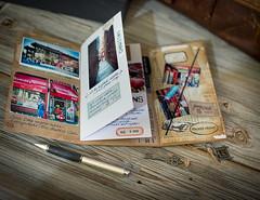 Travel Notebook (Marie's Shots) Tags: travel vintage scrapbook notebook album journal mini journey distressed timholtz