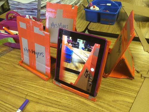Homemade iPad Stopmotion Stands by Wesley Fryer, on Flickr