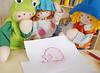 Olha meu projeto de leitãozinho! (Ateliê Bonifrati) Tags: cute pig diy craft felt feltro tutorial pap molde porco porquinho leitão passoapasso bonifrati façavocêmesmo feltpig leitãozinho