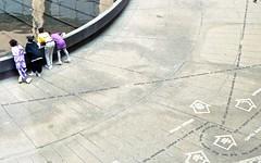 Washington, 1989 (gregorywass) Tags: reflection art pool museum mall reflecting dc washington national hirshhorn