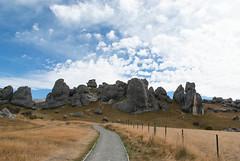 Castle Hill (Jocey K) Tags: newzealand sky clouds rocks scene hills nz southisland castlehill pathway rockformations kuratawhiticonservationarea limestoneboulders