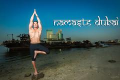 Namaste Dubai (vineetsuthan) Tags: dubai martin uae bluehour nico luce onelight vineetsuthan yogaphotographer muhaisana4