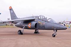 Alpha Jet 314-FE (re-edited) (joolsgriff) Tags: 2010 dassault dornier royalinternationalairtattoo alphajet raffairford armeedelair frenchairforce e119 riat2010 314fe