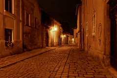 Old alleys at night