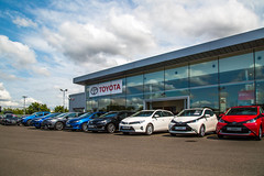 Toyota Lincoln (Listers Group) Tags: listers automotive car vehicle event audi birmingham solihull stratford coventry nuneaton bmv honda skoda toyota jaguar landrover