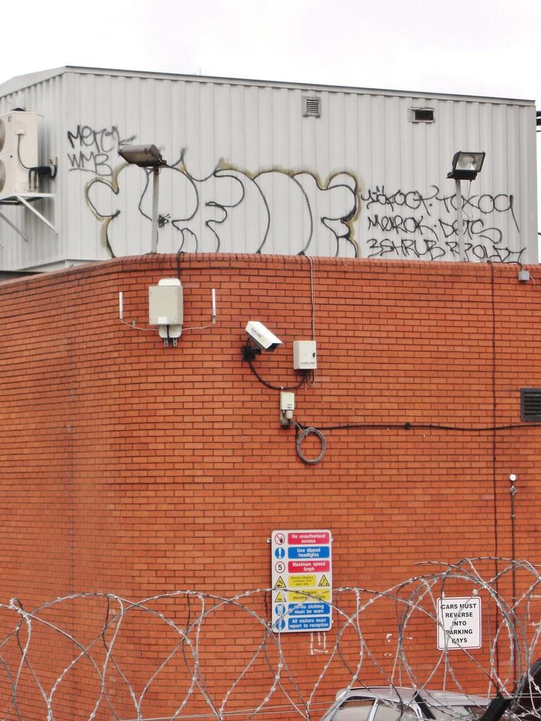 10 foot john19701970 tags uk roof london rooftop wall foot graffiti wire artist