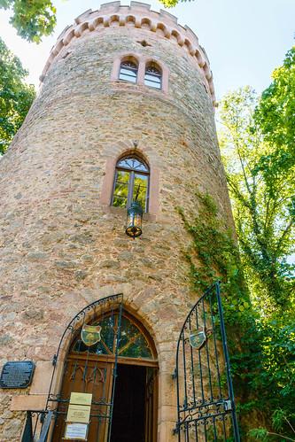 Entrée visiteurs du Château d'Ortenberg