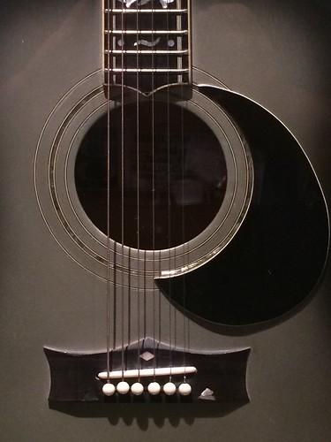 Guitar in Black