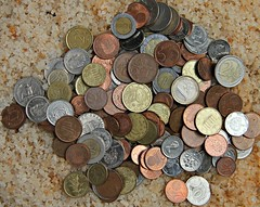Loose Change (In Memory of ColGould) Tags: money coins change foreign