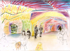(ledgr) Tags: london pen pastel pavilion serpentine
