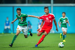 AFC Cup 2017 (BP Chua) Tags: soccer football singapore cambodia phnompenhcrown team sport action red green stadium ball homeunited sleague fas