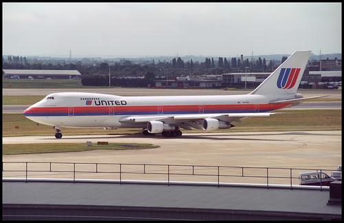 N4720U - London Heathrow (LHR) 23.07.1993