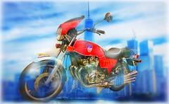 """Dream Bike"" (Sherrianne100) Tags: 911memorialmuseum memorial motorcycle gerardbaptiste fdny newyork dreambike"