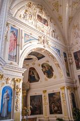 Mur de la chapelle de la Vierge (Zéphyrios) Tags: d7000 nikon alsace molsheim baroque gothique jésuite église xvii