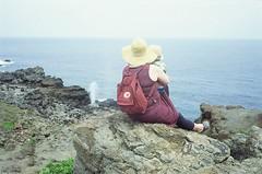 Thar she blows (pabs35) Tags: hawaii maui ocean pacific film believeinfilm 35mm fuji fujifilm fujichrome provia provia100f canon canonet ql17 canonetql17 rangefinder nakalele blowhole