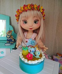 Happy birthday Suzette!  1 year at home 🎂🎉 (Kulukala Art) Tags: instagramapp square squareformat clarendon suzette la compagnie des radis bjd doll jointed ball