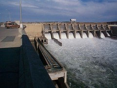 Ice Harbor Dam (OpalMirror) Tags: road trip white fish water river washington whitewater power snake dam roadtrip hydro snakeriver ladder campervan spillway hydropower fishladder iceharbor iceharbordam shevanagain