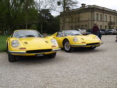 Pair of Dinos (SGH38) Tags: dino ferrari supercar 246