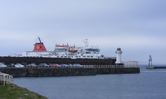 Ferry at Ardrossan 1 (leedslily) Tags: sea ferry boat ship calmac arran macbrayne adrossan calendonian