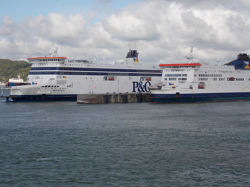 P&O Ferries. Spirit of France & Pride of Canterbury.