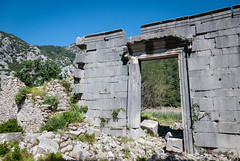 Olympos: temple (stijn) Tags: architecture turkey temple europe ruin olympos lycia lycianway