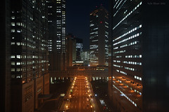 Time Travel (Ayrcan) Tags: city urban japan tokyo shinjuku asia skyscrapers towers government metropolis honshu