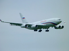 Russian Air Force IL-96 (Pilot Jake) Tags: world uk ireland airport belfast international summit leaders northern g8