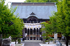 shrine(honden) (ykomatsu) Tags: new japan shrine place year pray