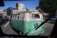 Antwerp traffic (zombikombi1959) Tags: show vw europe european traffic belgium roadtrip rushhour antwerp split ontheroad kombi bulli roadtripping splitty 2013 ho13 hessischoldendorf2013