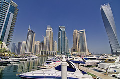 Dubai Marina (Sarfraz Abbasi [0.75 million views, Thanks]) Tags: marina nikon dubai uae tokina corniche unitedarabemirates 1116mm d7000