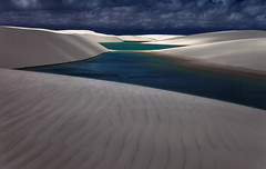 Chasing Shadows, Lencois Maranhenses, Brazil. (AndersonImages) Tags: brazil beach brasil shadows sanddunes lightbeams lencoismaranhenses michaelanderson emptybeach brazilbeach