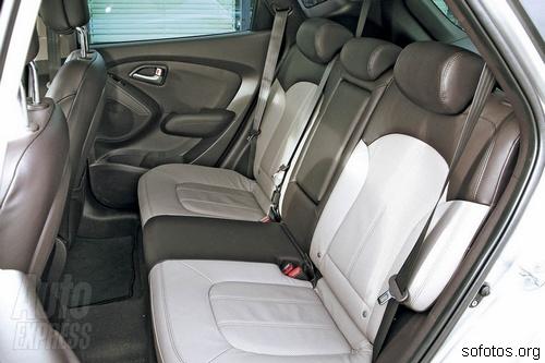 Interior do Hyundai ix35