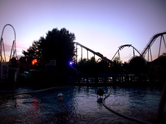 Thorpe Park Summer Nights (ThemeParkMedia) Tags: park summer night shots entertainment thorpe merlin roller theme nights attraction coasters