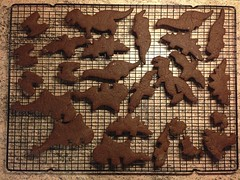 105 Dinosaur (samwebster) Tags: baking dinosaur biscuit photostream cooling project365