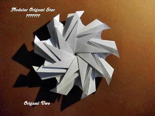 Modular Origami Star / Christmas Star - YouTube | 375x500