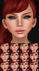 Ginger Snaps - Meet Lucy 2 (Ginger Krokus) Tags: new girls woman make up fashion female lucy 3d skin makeup sl secondlife virtual glam gingersnaps cosmetics ikon affair styling truthhair aidaewing glamaffair gingerkrokus