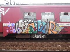 ZESER (VARTOL.AO) Tags: station train graffiti can spray hardcore masters piece bomb swag bombing berchem trein spraycan c4 yolo fokfok zeser swek 10rs 10r zesr jemama yoloboys yolomasters