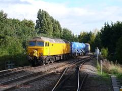 57305, Gospel Oak (looper23) Tags: uk railroad england london train oak october diesel rail railway class gospel freight 57 2013 57305