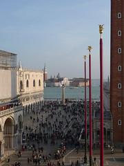 P1090194 (ezioman) Tags: venice people italy square clocktower palazzoducale sanmarcosquare