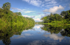 amazon (mariusz kluzniak) Tags: peru america forest reflections river still amazon colombia sony south southern alpha 580 a580